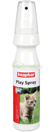 Beaphar Play Spray Спрей для привлечения котят и кошек к местам