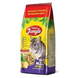 Happy Jungle Корм для шиншилл