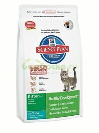 Hills Kitten Healthy Development Tuna Сухой корм для котят c Тунцом 2 кг